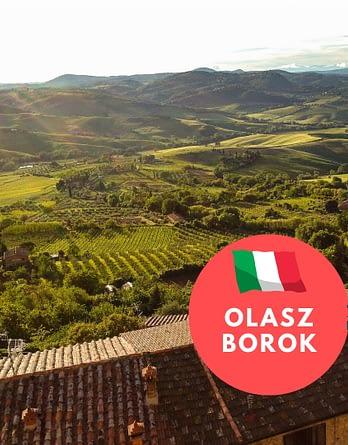 Olasz borok